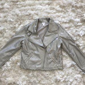 Girl L , 10-12 Xhilaration motor jacket